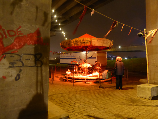Einde van Wintervuur, theaterfestival in Antwerpen Noord