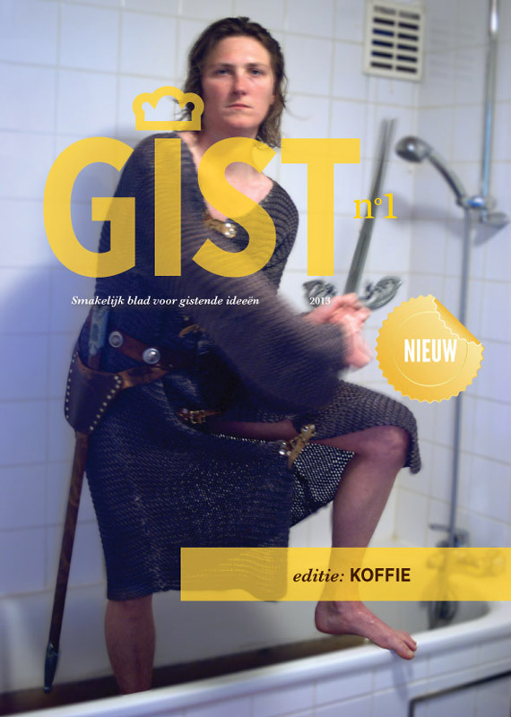 Cover 'GIST nr01' / independent (photo)graphic Zine