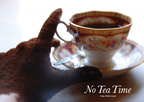 'No tea-time' spread in 'GIST' / independent (photo)graphic Zine
